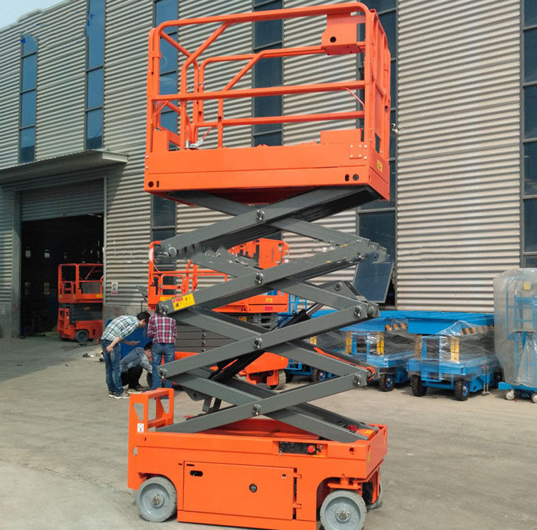 Self Propelled Electric Aerial Work Platform Extendable Electric Scissor Lift